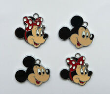MINNIE MICKEY MOUSE Metal Charms Pendant Party Bag filler jewellery choose no.