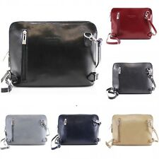 Handbag Vera Pelle Italian Leather Shoulder Messenger Bag Ladies Fashion