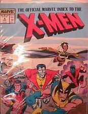 The Official Marvel Index to the X-Men #4 (Jul 1994, Marvel) DIrect edition