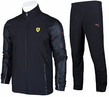 PUMA FERRARI 10th ANNIVERSARY MEN'S FULL ZIP TRACKSUIT TRACK JACKET PANTS XS-XXL