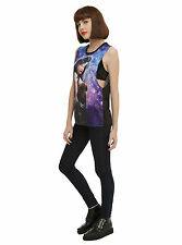 NEW DC Comics Wonder Woman Sublimation Galaxy Muscle Tank Top Tee Shirt JRS S-XL