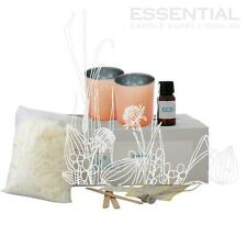 Soy Candle Making Kit 4 x Rose Gold Glass Jars, Contains everything you need Pre