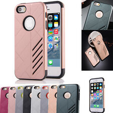 New Hybrid Shockproof Hard Rugged Heavy Duty Cover Case For Apple iPhone SE 5 5s