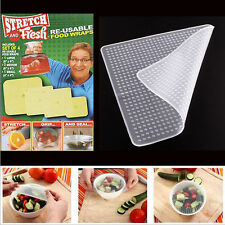 Stretch and Fresh Re-usable Food Wraps As Seen On TV Kitchen Tools