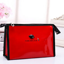 Travel Cosmetic Bag Multifunction Makeup Bag Pouch Toiletry Case and Hand Strap
