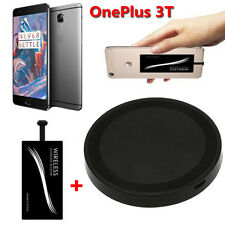 Qi Wireless Charger Pad Dock + Type-C Charger Sticker Receiver For OnePlus 3T