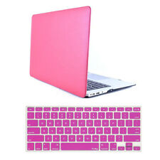 """Rubberized Hardcase Shell + Keyboard Cover For Macbook Air 13"""" A1369 A1466"""