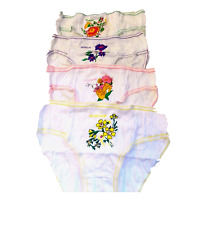 7  Pack Girls Briefs - Knickers - Cotton-7 Days of the Week - SIZE 2-13+ YRS-NEW