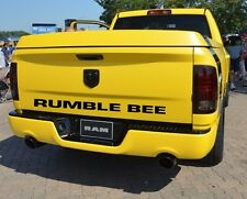 DODGE RUMBLE BEE REAR DECAL
