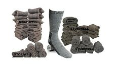 Mens  68% MERINO WOOL Warm Med Thick Smart Thermal Hiking Boots Socks 10 ~ 13