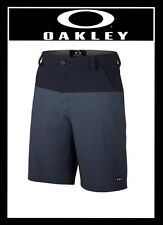 oakley stanley shorts x9ow  Oakley stanley short 20 golf shorts gear sz 36-38-40 peacoat new