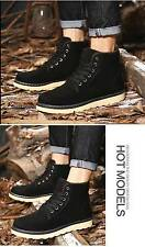 HOT!!!Winter Mens Faux Suede Warm Ankle Snow Boots High Top Sneakers Work Shoes