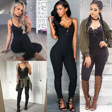 Sexy Women Ladies Clubwear Playsuit Party Jumpsuit Romper Long Trousers