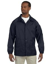 Harriton Jacket Nylon Staff M775 NEW Blue Large & More Size/Colors