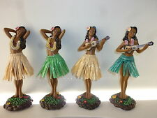 Hula Girl Dashboard Doll Tiki 50s Rockabilly Hawaii Kustom Kulture Ukulele Rods