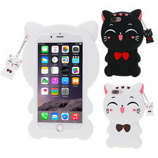 Cute 3D Cartoon Soft Silicone Rubber Case Cover Skin For iPhone 5 5S 6 6S 7 Plus