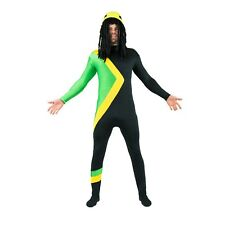 Jamaican Bobsled Fancy Dress Costume / Jamaica Team Bobsleigh Olympic Outfit