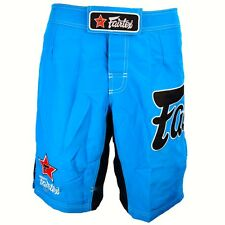 FAIRTEX MMA BOARDSHORTS -AB1-SKY BLUE 100% POLYESTER-GREAT FOR ALL SPORT/CASUAL
