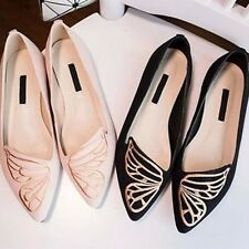 2016 Fashion Womens Casual Ballet Shoes Slip On Flats Loafers Butterfly Shoes