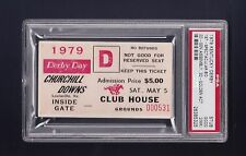 Spectacular Bid 1979 Kentucky Derby Club House ticket stub Psa Authenticated