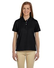 Devon & Jones Golf Shirt Polo Ladies' Pima Pique Short-Sleeve D112W NEW
