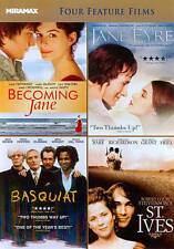 Becoming Jane/Jane Eyre/Basquiat/St. Ives (DVD, 2011) Free Shipping!!!