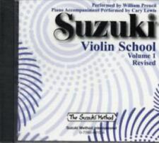 Suzuki Violin School CD Volume 1 by William Preucil (2007, CD, Revised)