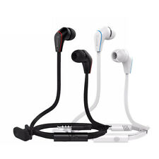 3.5mm Bass Stereo In-Ear Earphones Headphones Headset Earbuds With Remote Mic