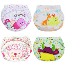 Cute Baby Training Pants Reusable Cloth Washable Infant Nappies Diaper Glitzy