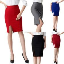 Fashion Formal Stretch Bodycon Women High Waist Short OL Mini Skirt Pencil Skirt