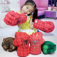 Spider Man Smash Hands Soft Toy Doll Boxing Gloves Big One Pair Funny Cosplay GN