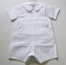 Boys FELTMAN BROTHERS boutique outfit 12M 18M NWT white Christening Wedding suit