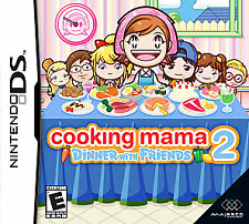 Cooking Mama 2: Dinner with Friends Nintendo DS Video Game