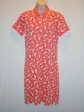 NWT MSRP $98 - TOMMY BAHAMA Shipwreck Beach Polo Dress, Coral, Sizes  S  M  L
