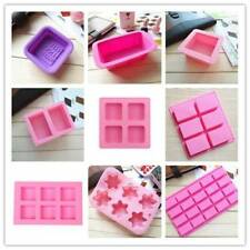 Silicone Ice Cube Candy Chocolate Cake Cookie Cupcake Soap Mold Mould DIY Mold w