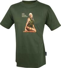 WEB-TEX Forces Support Personnel T-Shirts - Assault Girl
