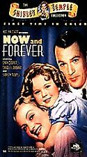 NEW Now and Forever Shirley Temple (VHS, 1999, Clamshell)
