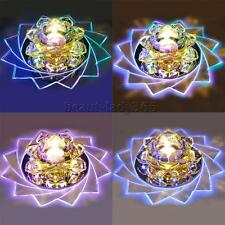 3W Crystal Flower Color Changing LED Light Colorful Night Lamp Party Decoration