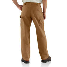 Carhartt B111 Washed Duck Work Dungaree FLANNEL Lined Pant [CADS-111]