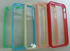 Transparent Hard Plastic Full Protection Bumper Cover Case For Apple iPhone 4 4S