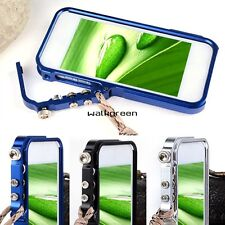 New Aluminum Metal Hard Frame Bumper Cleave Case Cover For Apple iPhone 5 5S WN