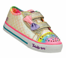 New Toddler Skechers 10284N Shuffles Sweet Steps Shoes (WMLT) (7-A10)