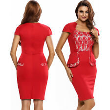 Women Hybrid Peplum Dress With Insert And Sweetheart Neckline Club Night Ruffles