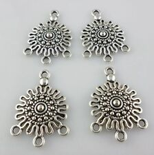 20/160pcs Tibetan Silver 18.5x26mm Earring Connectors Bail Charms