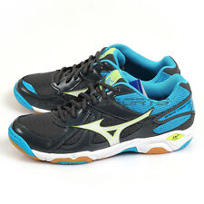 Mizuno Wave Twister 4 Dark Grey/White/Blue V1GA157073 Volleyball Badminton Shoes