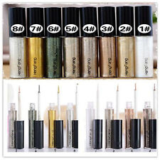 Fashion Eyeliner Eye liner Glitter Liquid Pencil Shiny Cosmetic 8colors