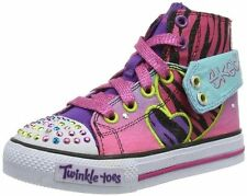 New Toddler Skechers 10297N Wildlights Twinkle Toes Light Up Shoes (MLT) (7-A9)