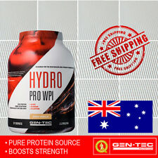 Gen-Tec Hydro Pro Whey Protein Isolate  Pure Powder Body Builders  2.27kg Gentec