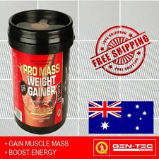 Gen-Tec Promass Weight Gainer 3kg Increases Weight Muscle Growth Gentec