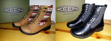 $140 NEW Womens 7 8 KEEN Bern Baby Bern Lace Winter Boot Black Deer Tan RETIRED